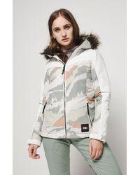 O'neill Sportswear Gray Skijacke Vallerite