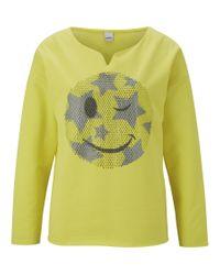 RICK CARDONA by Heine Multicolor Sweatshirt, mit Pailettenmotiv
