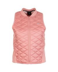 Nike Pink Funktionsweste Aerolayer