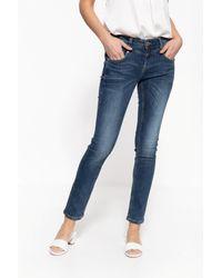 ATT Jeans Blue 5-Pocket-Jeans Zoe, aus elastischem Wonder Stretch