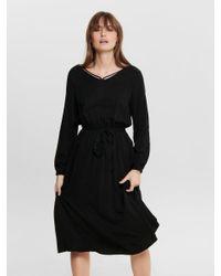 ONLY Black Langärmeliges Kleid