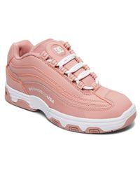 DC Shoes Pink Sneaker Legacy Lite