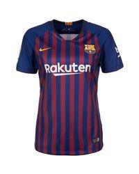 Nike Blue Fußballtrikot Fc Barcelona Stadium 18/19 Heim