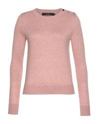 Vero Moda Pink Rundhalspullover VMMILDA