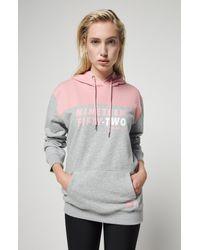 O'neill Sportswear Gray Sweatshirt mit Kapuze Indra