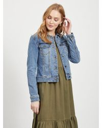 Object Blue Jeans Jacke