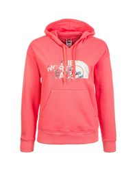The North Face Pink Kapuzenpullover Drew Peak Light