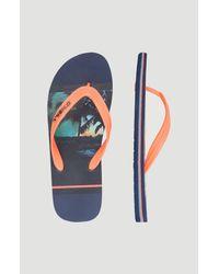 O'neill Sportswear Green Sandalen Profile graphic
