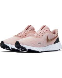 Nike Pink Laufschuh Wmns Revolution 5