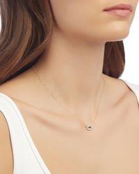 Adina Reyter - Metallic Pavé Diamond Eye Pendant Necklace - Lyst