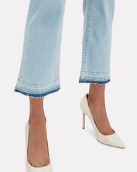 Veronica Beard Blue Jackie Cropped Jeans