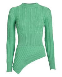 Maggie Marilyn Green The Rufus Merino Cable Sweater