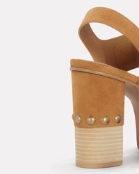 See By Chloé Natural Eva Platform Sandals