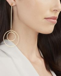 Lele Sadoughi - Metallic Dangling Orb Earrings - Lyst