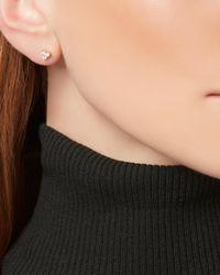 Adina Reyter - Metallic Diamond Triple Cluster Stud Earrings - Lyst
