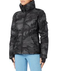 Sam. - Black Freestyle Camo Puffer Jacket - Lyst
