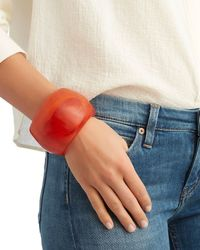 Dinosaur Designs - Marbled Resin Bangle: Red - Lyst