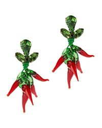 Auden | Red Chili Pepper Earrings | Lyst