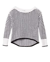 Rag & Bone Multicolor Daniela Two-tone Sweater