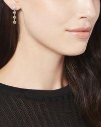 Eddie Borgo | Metallic Short Ball Chain Drop Earrings | Lyst