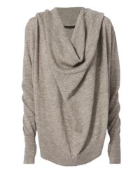 Nicholas K Gray Marco Granite Hoodie Sweater