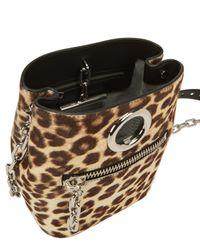 Alexander Wang - Brown Leopard Riot Bag - Lyst