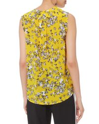 Rag & Bone Yellow Victor Garden Floral Tank