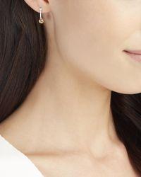 Mateo - Metallic Diamond Sphere Earrings - Lyst