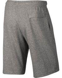 Pantalón corto Club Nike de hombre de color Gray