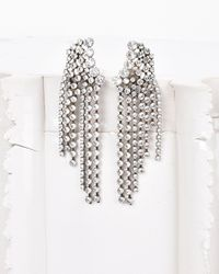 Isabel Marant   Multicolor A Wild Shore Earrings Adorned With Crystals   Lyst