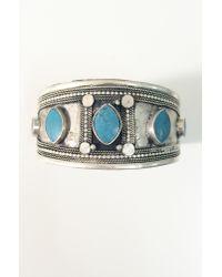 Natalie B. Jewelry   Metallic Sahar Cuff   Lyst