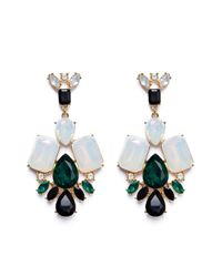 Ivyrevel | Metallic Gripoix Earrings Gold Metal | Lyst