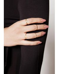 Ivyrevel - Multicolor Sahara Rings - Lyst