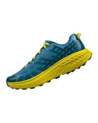 On Blue Men's Hoka E E Speedgoat 2 Trail Running Shoe for men