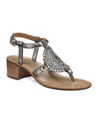 Jack Rogers Metallic Gretchen Sandal