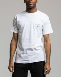 10.deep - White Blurred Vision Tee for Men - Lyst