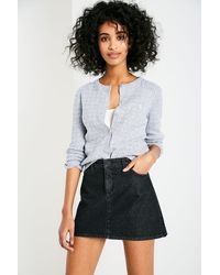 Jack Wills | Gray Holywell Cable Cardigan | Lyst