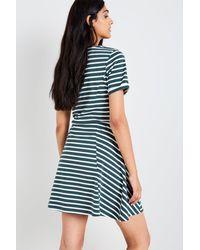 Jack Wills - Blue Arnhem Stripe Fit & Flare Dress - Lyst