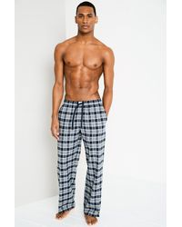 Jack Wills - Gray Blakebrook Flannel Loungepant for Men - Lyst