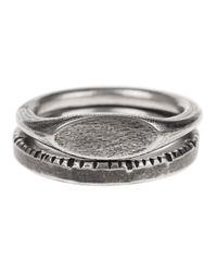Werkstatt:münchen Combination Time Silver in Metallic für Herren
