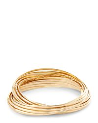 Jaeger - Metallic Margot Multi Ring Bangle - Lyst