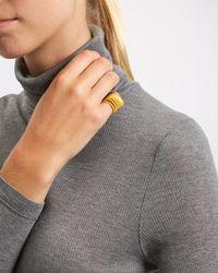 Jaeger - Yellow Wonderluk 3d-printed Ring - Lyst