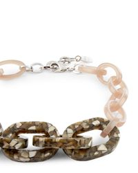 Jaeger - Multicolor Monica Mosaic Links Necklace - Lyst
