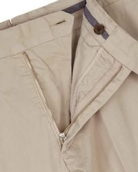 Jaeger - Natural Garment-dyed Regular Chinos for Men - Lyst