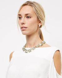 Jaeger - Metallic Sonia Semi-precious Necklace - Lyst