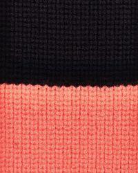 Jaeger - Pink Wool Skinny Scarf - Lyst