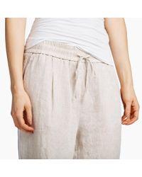 James Perse Multicolor Oversized Linen Pajama Pant