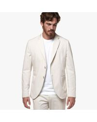 James Perse Multicolor Micro Twill Tailored Suit Jacket for men