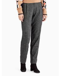 Jason Wu | Gray Wool Flannel Slim Pant | Lyst