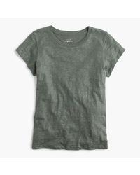 J.Crew - Gray New Vintage Cotton T-shirt - Lyst